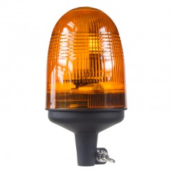 Halogén maják, 12-24V, oranžový na držiak, ECE R10