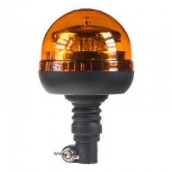 PROFI LED maják 12-24V 12x3W oranžový na držiak, ECE R65