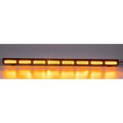 LED alej vodeodolná (IP67) 12-24V, 48x LED 3W, oranžová 970mm