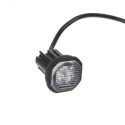 PROFI výstražné LED svetlo vonkajšie oranžovej, 12-24V, ECE R65