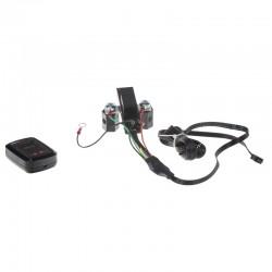 Automatické relé pre dobíjanie druhej batérie 12V / 250A + voltmeter