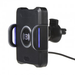 Univerzálny QI držiak pre telefóny motoricky ovládaný