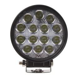LED svetlo 10-30V, 14x3W, R10, rozptýlený lúč