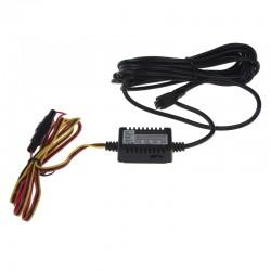 Kabeláž pre pevnú montáž DVRB s microUSB - dvr25, dvrb24s a dvrb27wifi