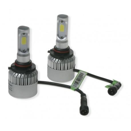 LED H10 do svetlometov (set), 8000Lumen, nehomologované, biela
