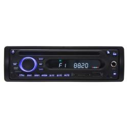1DIN rádio pre autobusy s DVD / CD, 2x USB, SD, Mikrofón pre sprievodcu