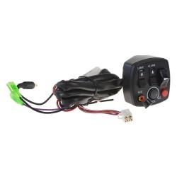 Spínač pozičných svetiel / predátorov / zvukových systémov na motocykel