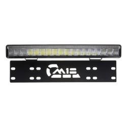 LED rampa s pozičným svetlom pod ŠPZ, 18x3W, 380mm, ECE R112