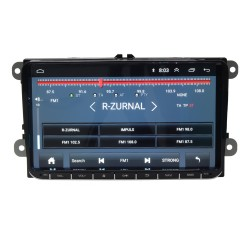 Autorádio pre VW, Škoda s 9 LCD, Android 8.1, WI-FI, GPS, Mirror link, Bluetooth, 2x USB