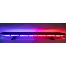 LED rampa 1341mm, modro-červená, 12-24V, ECE R65