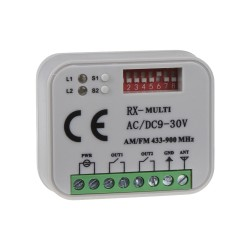 Univerzálny prijímač k bránam, bránam 433-868 Mhz