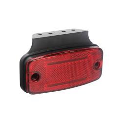 Zadné obrysové svetlo LED, červený obdĺžnik, ECE R10