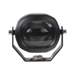 PROFI LED výstražné svetlo-pruh 10-80V 1x6W modrej, 79,5x65mm, ECE R10