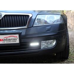 LED svetlá pre denné svietenie Škoda Octavia 2004-08, ECE