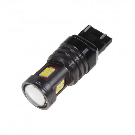 LED T20 (7443) biela, 12-24V, 15LED / 2835SMD