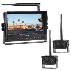 SET bezdrôtový digitálny kamerový systém s monitorom 7 AHD + 2x bezdrôtová AHD kamera