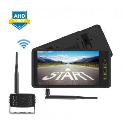 SET bezdrôtový digitálny kamerový systém s monitorom 9 AHD na zrkadlo