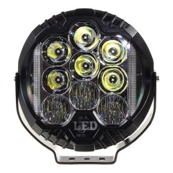 LED svetlo guľaté, 70W, ø195mm, ECE R10 / R112