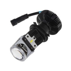 LENS LED H4 biela, 9-32V, 5000L chip G-XP x3