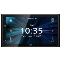 JVC 2DIN autorádio / 6,8 displej / USB / AUX / Bluetooth / Apple CarPlay / Android Auto