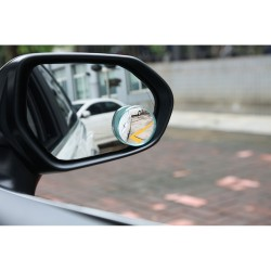 Prídavné zrkadlo sférické guľaté 2ks