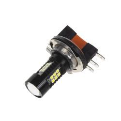 LED H15 biela, 12V, 21LED / 2835SMD