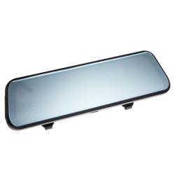 LCD monitor 9,66 s dual DVR kamerou v zrkadle pre montáž na zrkadlo