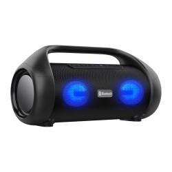 Bluetooth reproduktor CARCLEVER, USB, AUX, FM, MIC, TWS, IPX5