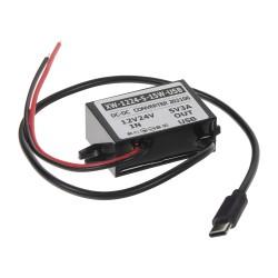Menič napätia 12-24 / 5V, 3A USB-C