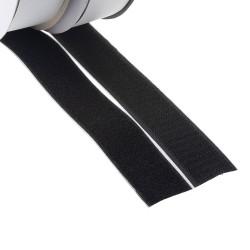 Suchý zips samolepiaci, slučky + háčiky 30mm x 25m