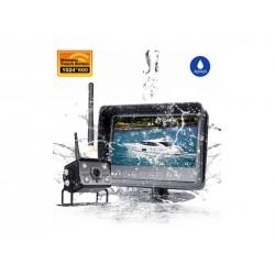 SET bezdrôtový digitálny kamerový systém s monitorom 7 AHD, vodeodolný