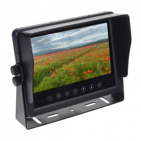AHD Monitor 7 prachotesný / vodeodolný / nárazu odolný, 3x4PIN vstup