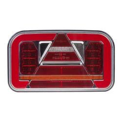 Združená LED lampa ľavá zadná s dynamickými blinkre 12 / 24V