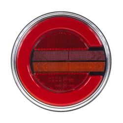 LED združená lampa zadná pravá s dynamickými blinkre, 12-24V, ECE
