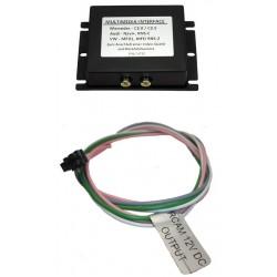 adaptér A / V vstup pre OEM navigáciu Škoda, VW RNS-510 (MFD3) bez OEM TV tunera