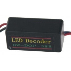 Eliminátor chybových hlásení s redukciou pre žiarovky BAU15S