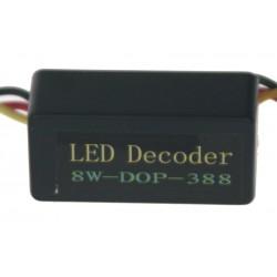 Eliminátor chybových hlásení s redukciou pre žiarovky BAY15d