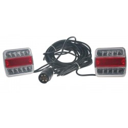 2x združená lampa zadné LED vrátane kabeláže a pripojenie 7pin