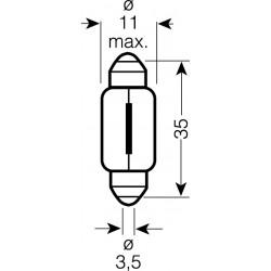 OSRAM 12V C5W (SV8,5-8) 5W štandard (10ks)