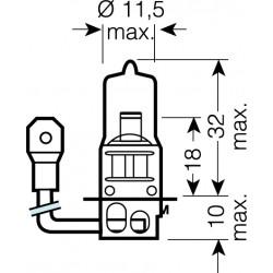 OSRAM 12V H3 55W standard (1ks)