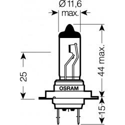 OSRAM 12V H7 55W standard (1ks)