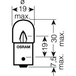 OSRAM 24V R5W (BA15s) 5W štandard (10ks)