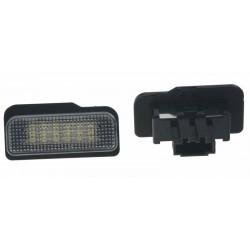 LED osvetlenie ŠPZ do vozidla Mercedes W203 (5D), R171, W211, W219