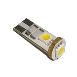 LED T10 biela, 12V, 3LED / 3SMD