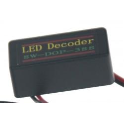 Eliminátor chybových hlásení s redukciou pre žiarovky T20 (3156,3157)