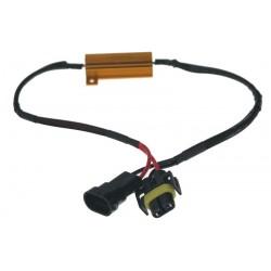 Rezistor pre žiarovku H8, H9 a H11 12V / 21W, 6 ohm, hliníkové puzdro