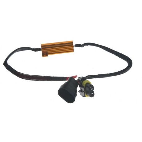 Rezistor pre žiarovku HB4, H10 12V / 21W, 6 ohm, hliníkové puzdro
