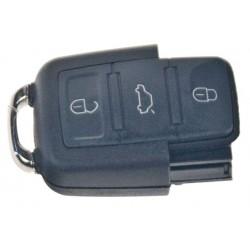 Dálk. ovládač pre Škoda, VW, Audi, Seat, 3tl., 434MHz, 1J0 959 753 AH