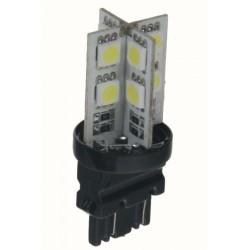 LED T20 (3157) biela, 12V, 16LED / 3SMD