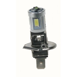 LED H1 biela, 12V, 12x 5630SMD + 3W LED